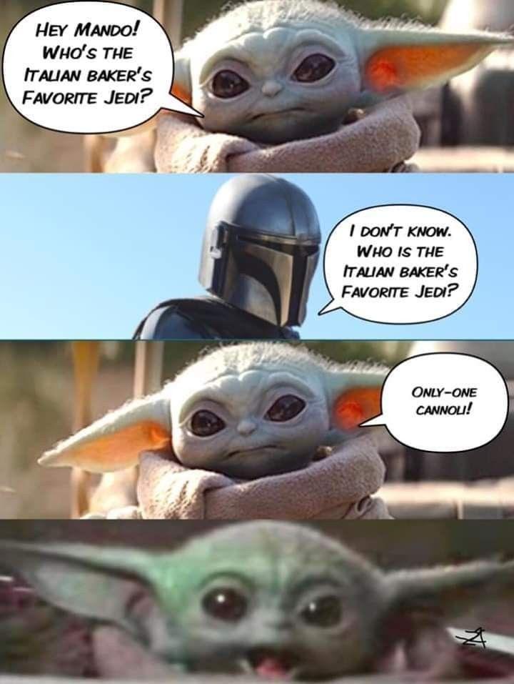 Pin By Nancy Marmol On Baby Yoda Star Wars Jokes Yoda Wallpaper Star Wars Memes