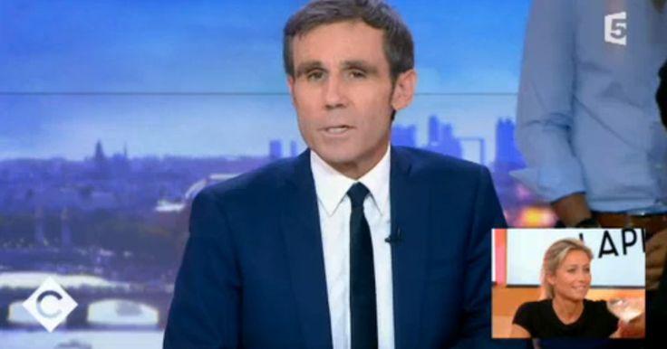 La future présentatrice du JT de France 2 a salué l'élégance de son prédécesseur.