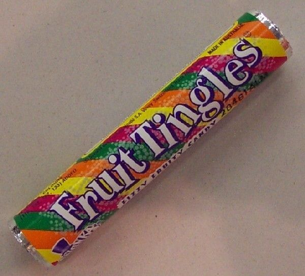 Fruit Tingles - it was so great to find a speckled 'wish' fruit tingle.