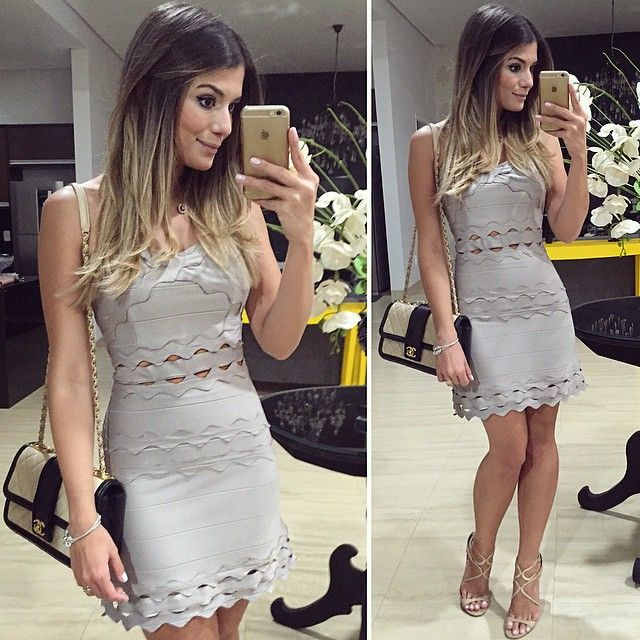 Today! Dress @mundodamalu | #lookdodia #vestidodebandagem #amo #lookoftheday #ootd #selfie #blogtrendalert