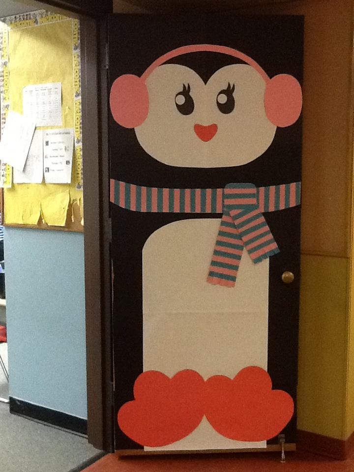 Penguin Door Door Decor Pinterest More Penguins