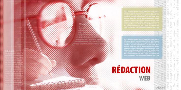 Vous manquez de temps où vous n'êtes pas familiarisés avec la rédaction d'article! Profitez de toute l'expérience d'un professionnel de la communication et du marketing pour faire réaliser les contenus de votre site internet de présentation. http://www.olloweb.fr/fr/offres/creation-site-internet/creation-site-internet-presentation/redaction-site-internet-presentation.html