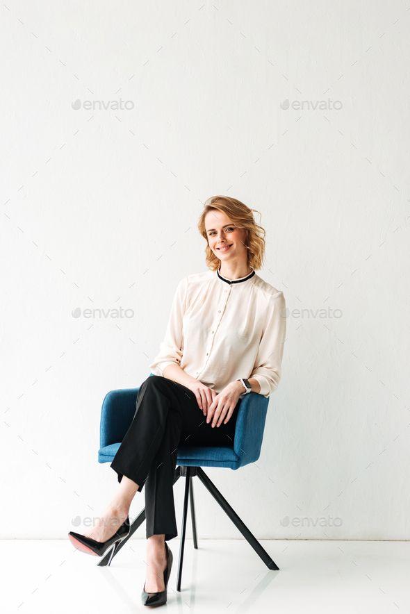 Portrait Of A Confident Young Businesswoman Business Portrait
