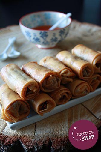 Foodblogswap maart - vlammetjes met chili saus   HandmadebyHelen