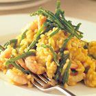 Risotto met garnalen en zeekraal van Rick Stein - recept - okoko recepten