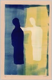 Ressemblance 9: H.N. Werkman / De engel van de laatste troost (1943), compared with László Moholy-Nagy