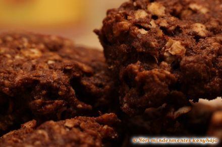 Nóri mindenmentes konyhája: Narancsos-csokis zabkeksz