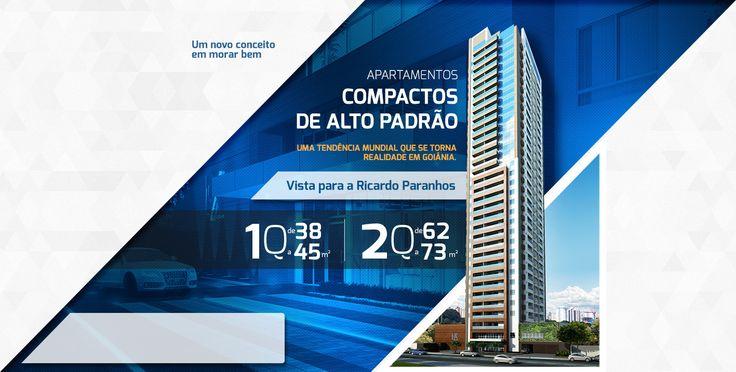 LUX HOME DESIGN - Compactos de alto padrão, uma tendência mundial que torna realidade em Goiânia.