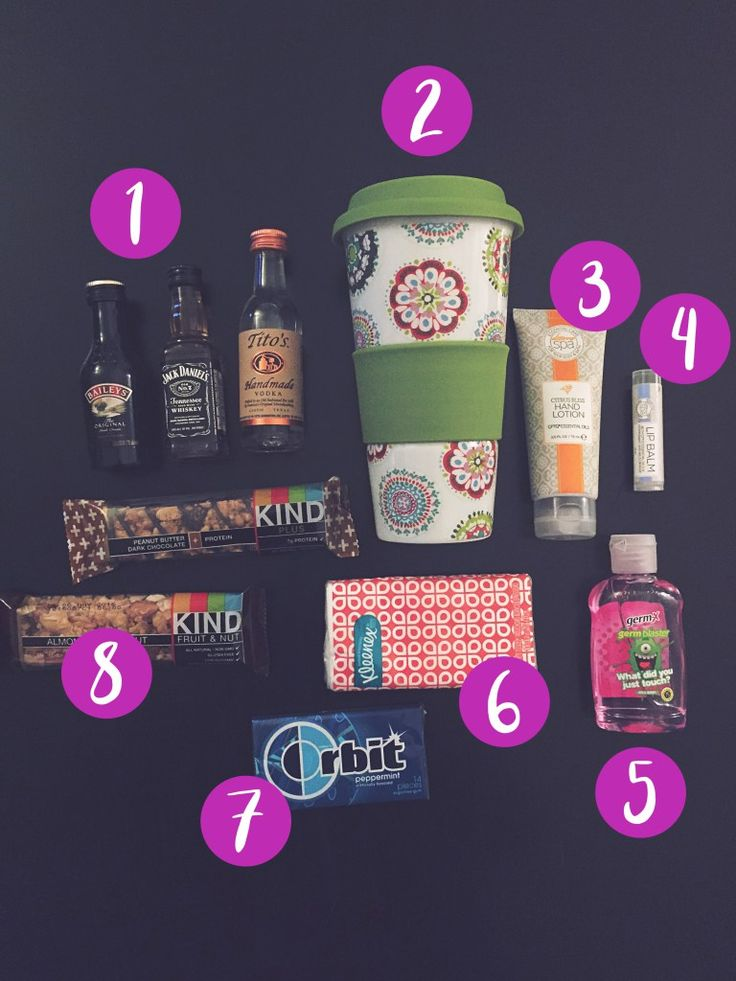 8 MUST HAVE Items for Travel Goodie Bags!