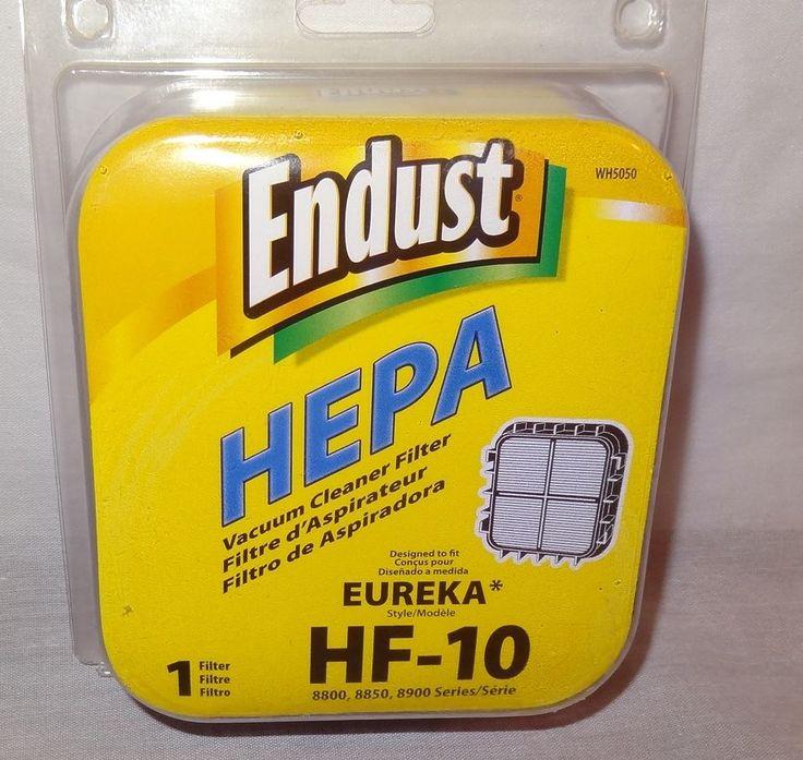 New Endust Hepa Vacuum Cleaner Filter HF-10 Eureka 8800 8850 8900 Series WH5050 #Endust