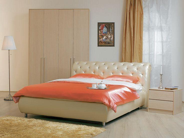 Деревянная кровать Кровать Эмили с бельевым ящиком Дуб молочный : отзывы, цены, доставка, заказать онлайн | Аскона
