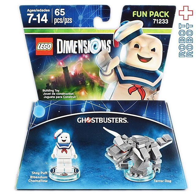 Lego dimensions Ghostbusters Fun Pack 71233 Stay Puft /& Terror dog