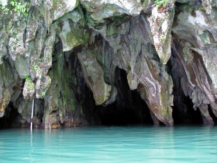 La rivière souterraine Puerto Princesa, Philippines