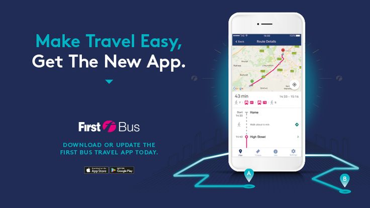 First Bus launch their brand new travel app