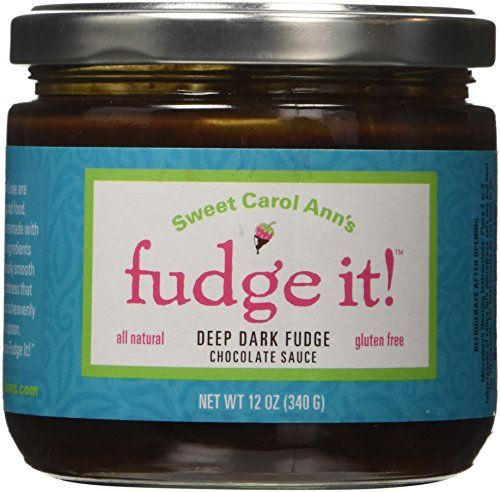 Fudge It! Deep Dark Chocolate Fudge Sauce - http://bestchocolateshop.com/fudge-it-deep-dark-chocolate-fudge-sauce/