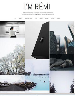 portfolyo web sitesi, fotoğrafçı web sitesi
