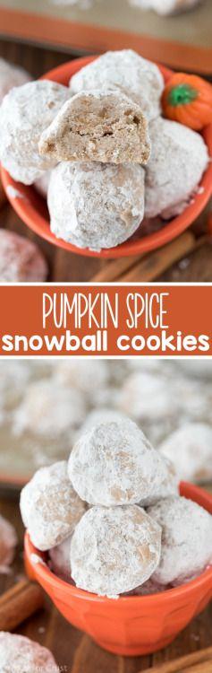 PUMPKIN SPICE SNOWBALLS Really nice recipes. Every hour. Show me  Mein Blog: Alles rund um die Themen Genuss & Geschmack  Kochen Backen Braten Vorspeisen Hauptgerichte und Desserts