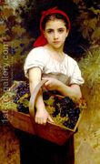 Vendangeuse [The Grape Picker] by William-Adolphe Bouguereau