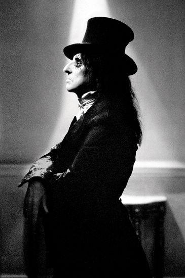 Alice Cooper  styled by Suzanne von Aichinger