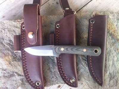 The Woodsman. Blind Horse Knives. Hunting knife, bushcrafting knife, utility knife, it does it all.