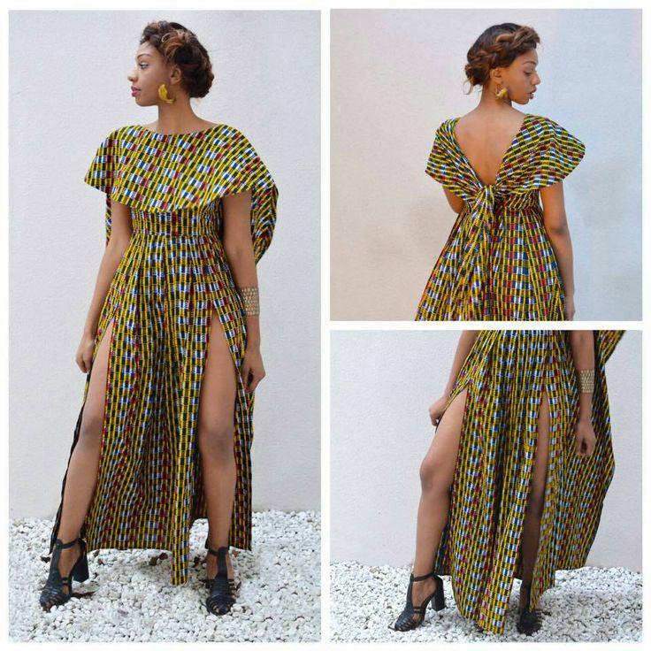 Africain salopette combinaison imprimé africain par TrueFond
