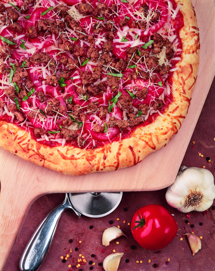 Pronto Pizza Recipe - American Lamb  #NotYourGrandmasLamb