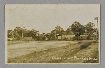 An astrographic telescope once stood on the corner of Pennant Hills and Beecroft Roads at Pennant Hills. Construction of an Observatory on the site was completed in 1898. It was operated for 32 years by James Short, an astronomical photographer. In 1931, the retirement of James Short and lack of funding during the Depression saw the closing of the facility and relocation of the telescope back to the Sydney Observatory. A memorial has been erected indicating where the telescope stood.