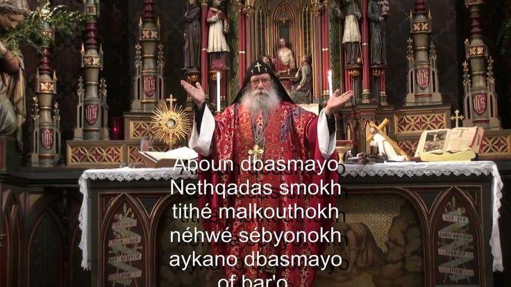 Notre Père en Araméen par le Père Samuel