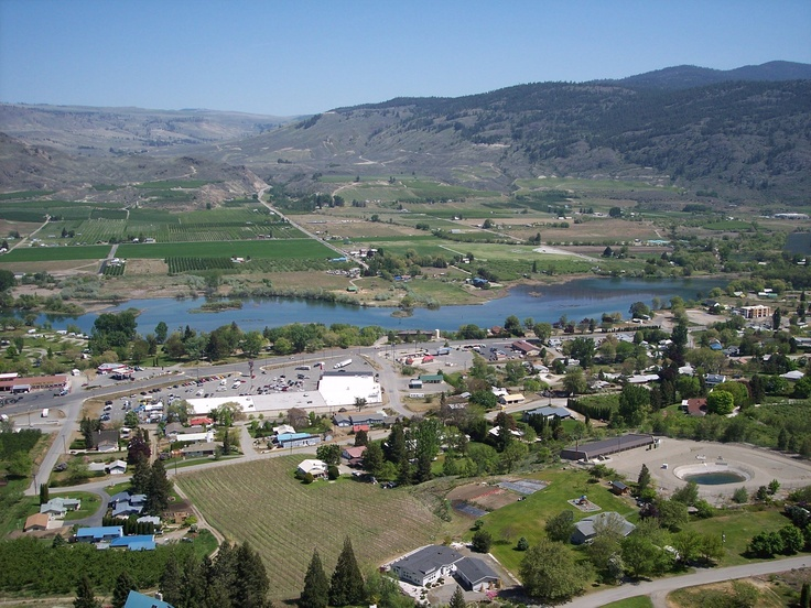 This town is goregous Oroville, WA. Karli and I stayed there with dad in July 2011
