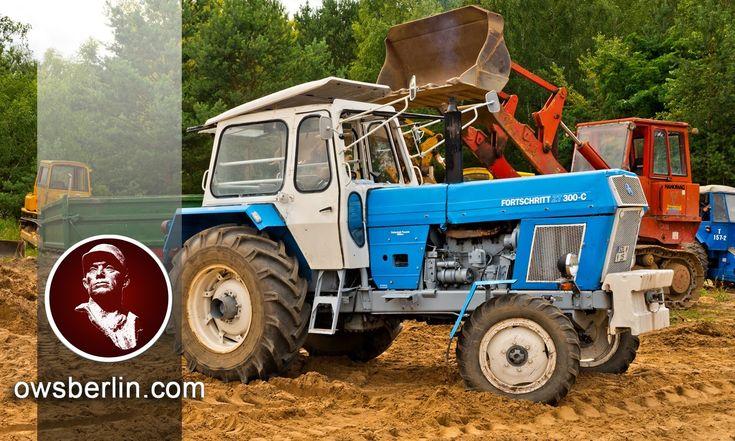 DDR/GDR Traktor ZT 300-C Wischer, Germany.