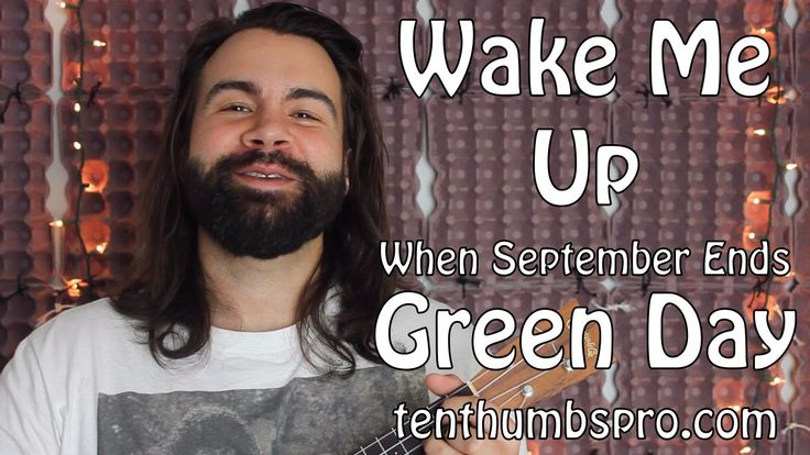 Wake Me Up When September Ends - Green Day - Ukulele Tutorial with tabs