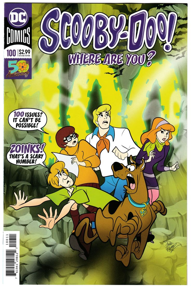 Scooby Doo Where Are You 100 (DC, 2019) NM Scooby doo