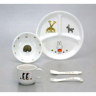 Kit de pratos - Coelhinha Miffy- uso diário