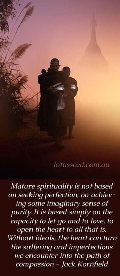 Jack Kornfield Buddhist Zen quotes by lotusseed.com.au