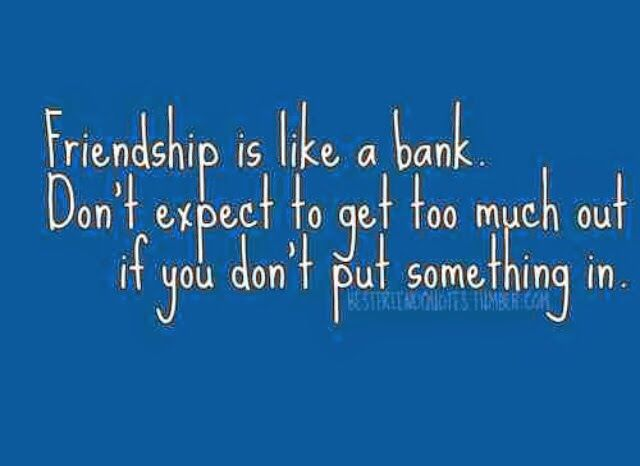 Friendship Is A Two Way Street Positive Quotes Pinterest Life