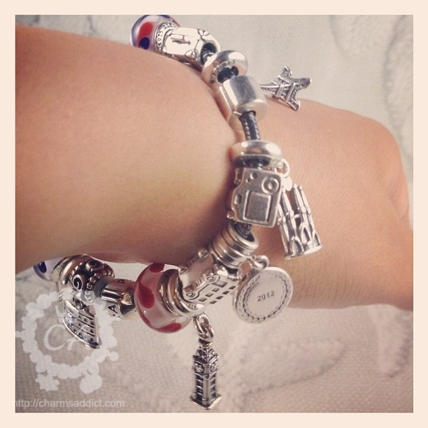 82 best traveling charms images on pinterest silver stars travel bracelet action shot sciox Choice Image