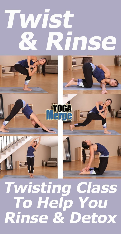 Twist Rinse Yoga Class Online Yoga Videos Yoga Videos Yoga