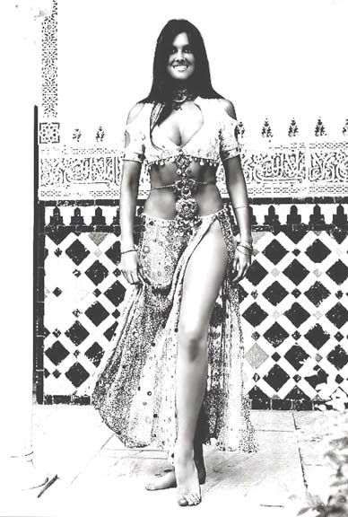 ... Munro as Margiana, the slave girl in The Golden Voyage of Sinbad