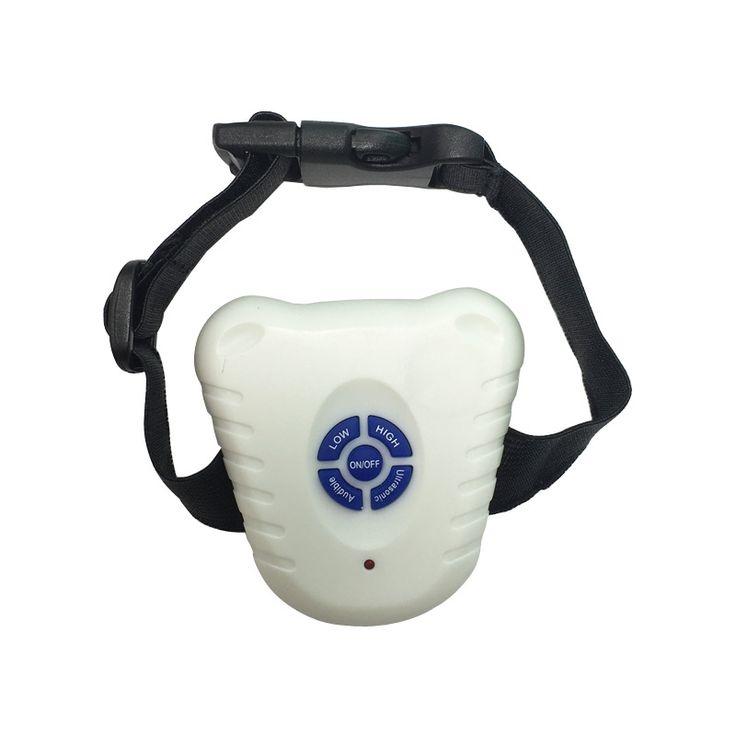 No bark Collar Dog Accessories Electronic Ultrasonic Stop Barking Training Device Control Barking Dogs Collar Bark Deterrents #Affiliate