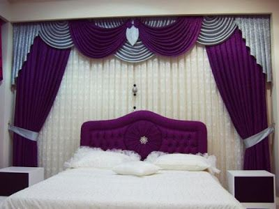 Dwell Of Decor: 27 Modern Curtains Behind Bed, Will Make The Bedroom Special