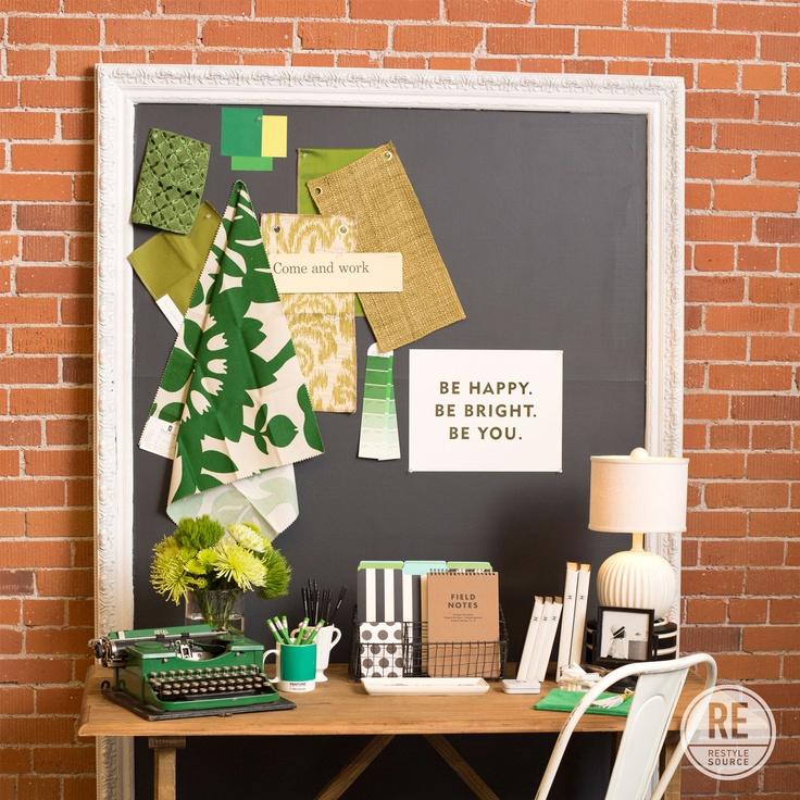 Emerald Green Home Office
