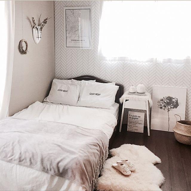 ワンルーム ベッド
