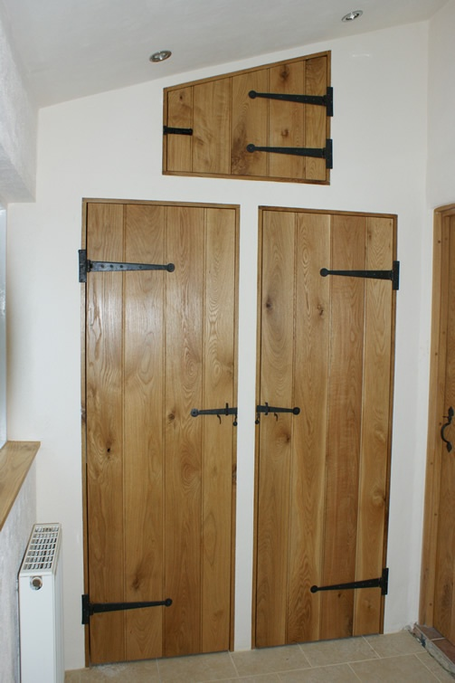 Customised set of oak doors made by the skilled team at Devon Heritage Joinery. & 30 best House - Internal Doors images on Pinterest | Interior doors ...