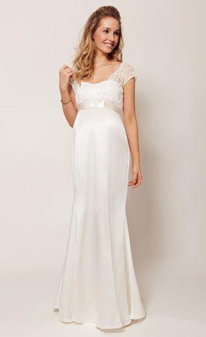 Gorgeous Wedding Dresses For Pregnant Brides - fashionsy.com