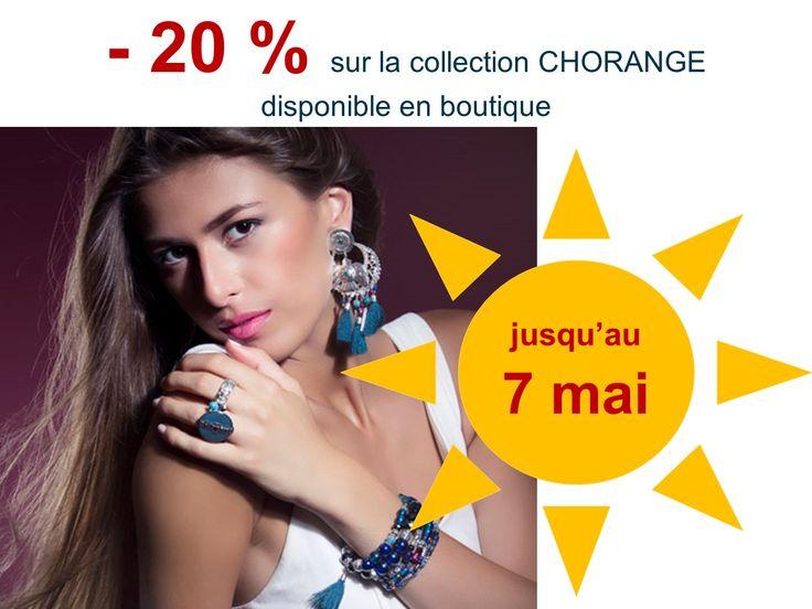 - 20 % sur tous les bijoux CHORANGE au Nid à tendances, 2 rue Copernic, Nantes, France. Jusqu'au 7 mai 2016. #nidatendances #lenidatendances #chorange #bijoux #shoppingnantes #bijouxnantes