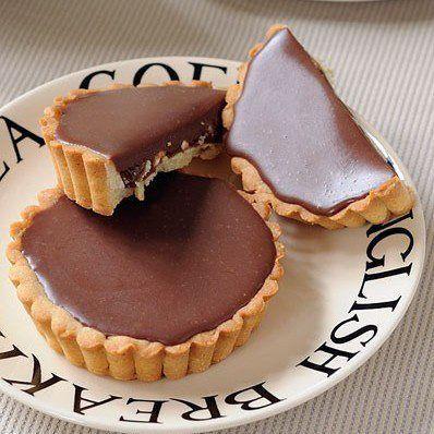 Tartelettes au chocolat au lait et au nougat - Pause Gourmande