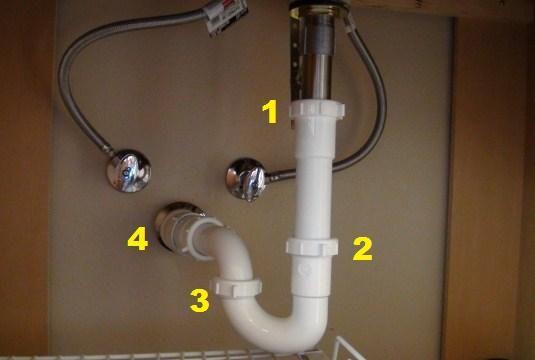 bathroom sink faucet leaking underneath