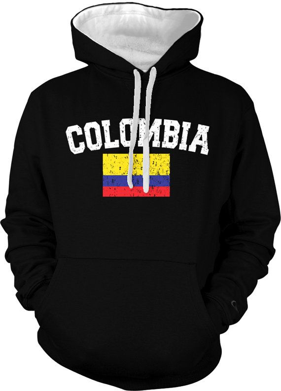 Colombia Country Flag Sweatshirt Colombian Pride Colombia