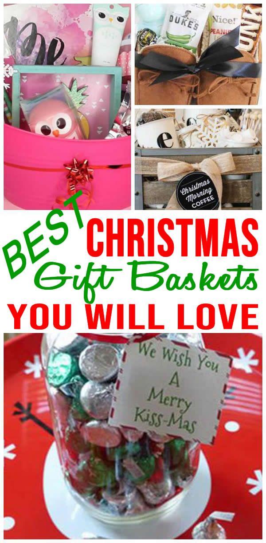 Diy Christmas Gift Baskets Easy Diy Christmas Gifts Homemade Christmas Gift Baskets Easy Homemade Christmas Gifts