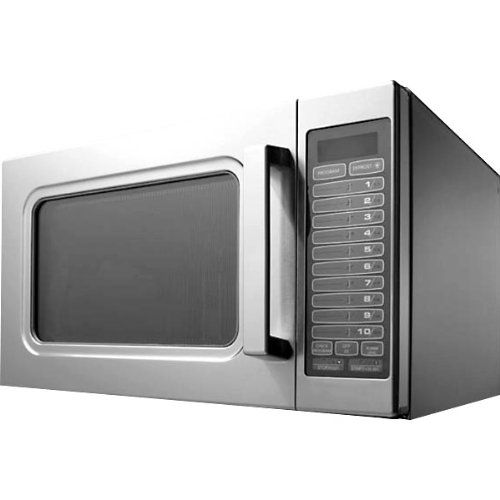 Amana RCS10TS Medium-Duty Microwave Oven, 1000W  Made for commercial useStainless steelEasy to clean  http://industrialsupply.mobi/shop/amana-rcs10ts-medium-duty-microwave-oven-1000w/